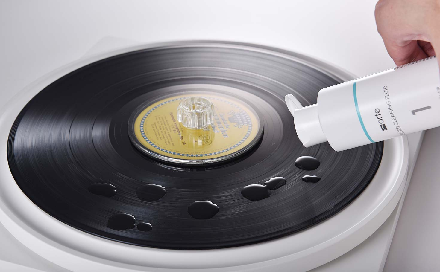 arte record cleaner