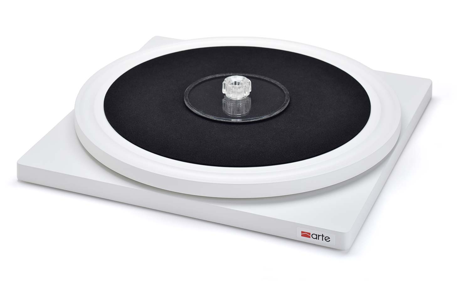 arte record cleaning turntable